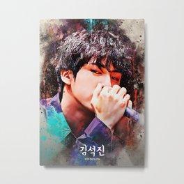 BTS Jin Metal Print