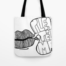 Please Tell Me Tote Bag