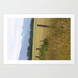 Gordon Ranch Art Print