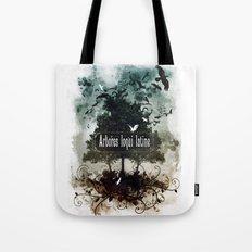 arbores loqui latine Tote Bag
