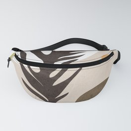 Vase Plant Abstract 1 Fanny Pack