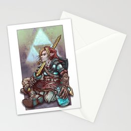Soul of a Hero - Red Tunic Stationery Cards