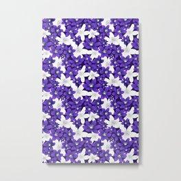 Ultra Violet Garden Metal Print