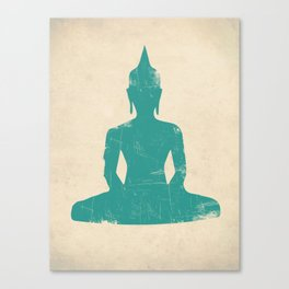 Seated Buddha Art Print Canvas Print