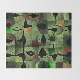 The puzzle Throw Blanket