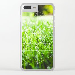 Icosahedron - Water Clear iPhone Case