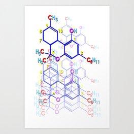 """THC: ENHANCE & TRANSMIT"" Art Print"
