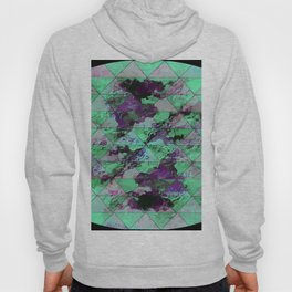 Oval with triangles Hoody