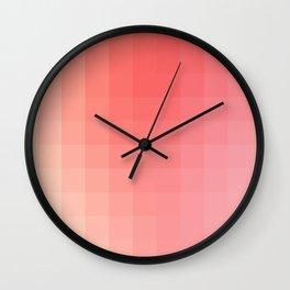 Lumen, Pink Glow Wall Clock