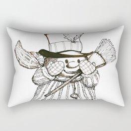 Snow Bear Three by Steve Kidd Art Rectangular Pillow