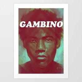 Gambino Art Print
