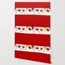 Café Gourmet Set Wallpaper