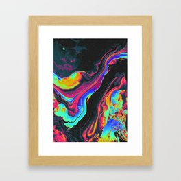 BATS IN THE ATTIC Framed Art Print
