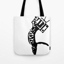 Television kitty Tote Bag