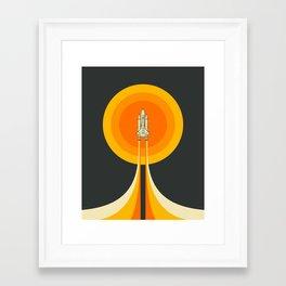 Upward Framed Art Print