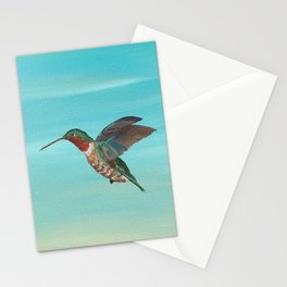 Hummingbird on the Move Stationery Cards