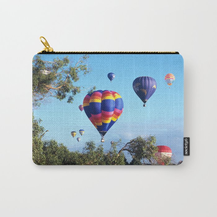 Hot air balloon scene Carry-All Pouch