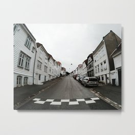 Symmetry of Bergen Metal Print