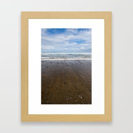 Playa Ballena Framed Art Print