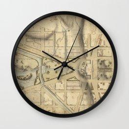 Washington D.C. 1815 Wall Clock