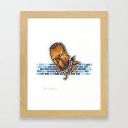 Chicken Chewbacca Framed Art Print
