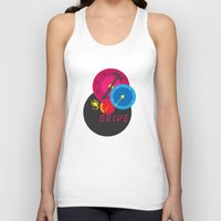 drive Tank Tops featuring Drive by Geminianum