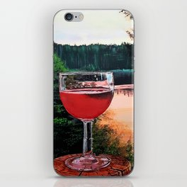 Water and Rose iPhone Skin