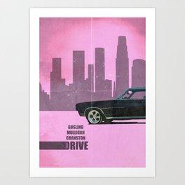 Driver Minimalist Art Print