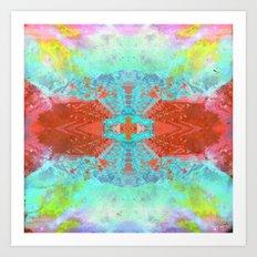 Halogen Art Print