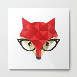 Dr.Fox |I| Metal Print