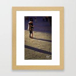 Romantic Italians Framed Art Print