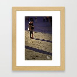 Romantic Italians Framed Art Print
