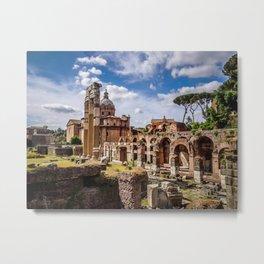 Roman Ruins Metal Print