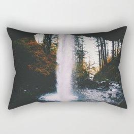 Behind The Falls Rectangular Pillow