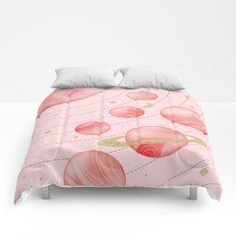 The Pink Solar System Comforters
