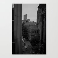 packers Canvas Prints featuring roof top bliss by Rebecca Scerri