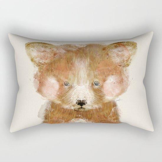 little red panda Rectangular Pillow