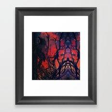 qwyth th'ryvyn Framed Art Print