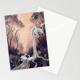Barfing Unicorn Stationery Cards