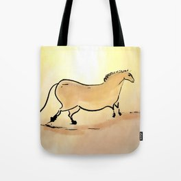 Ancient horse of Lascaux Tote Bag