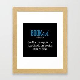 Stacks On Stacks Of Books Framed Art Print
