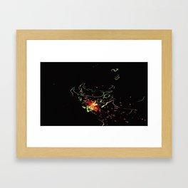 Bright Night Lights 7 Framed Art Print