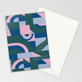 Outlandish Blocks Stationery Cards