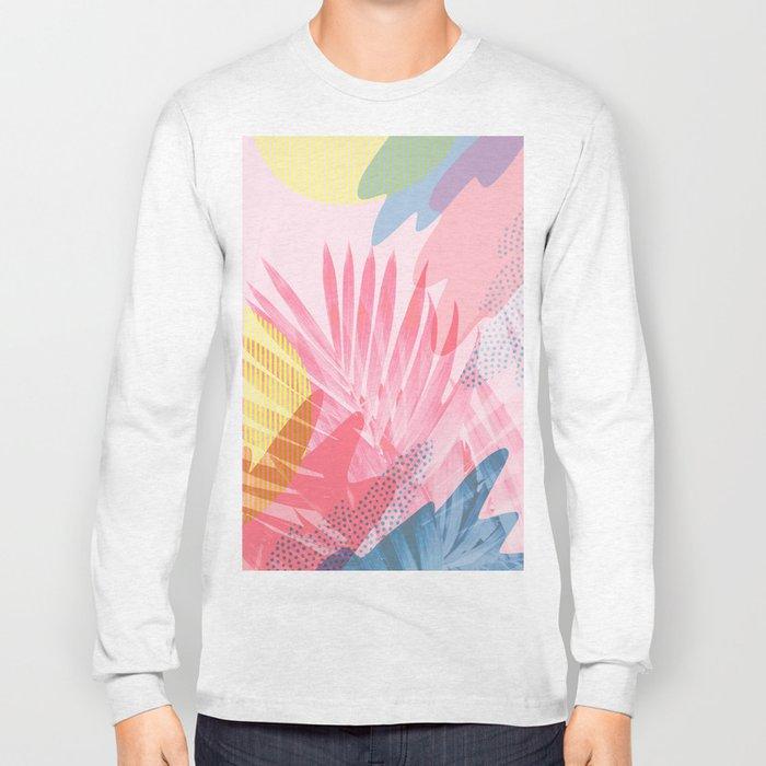 Pastel Jungle Long Sleeve T-shirt