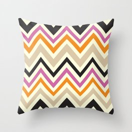 August Chevron Throw Pillow