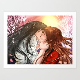Forever yours Art Print