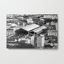 Perrache Train Station - Lyon - France Metal Print