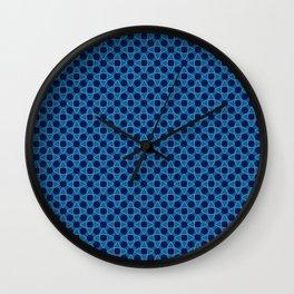 Triangles and Circles Wall Clock