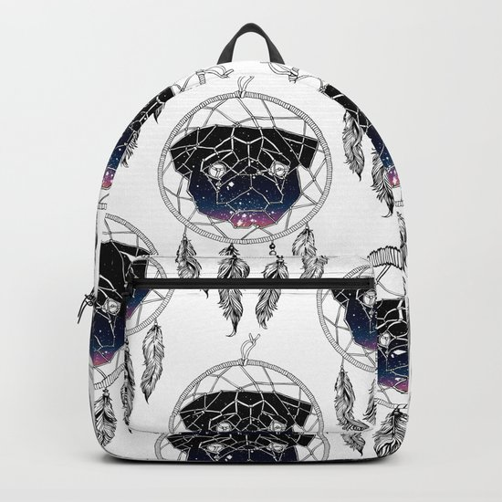 Dreamcather Pug Backpack