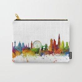 London England Skyline Cityscape Carry-All Pouch